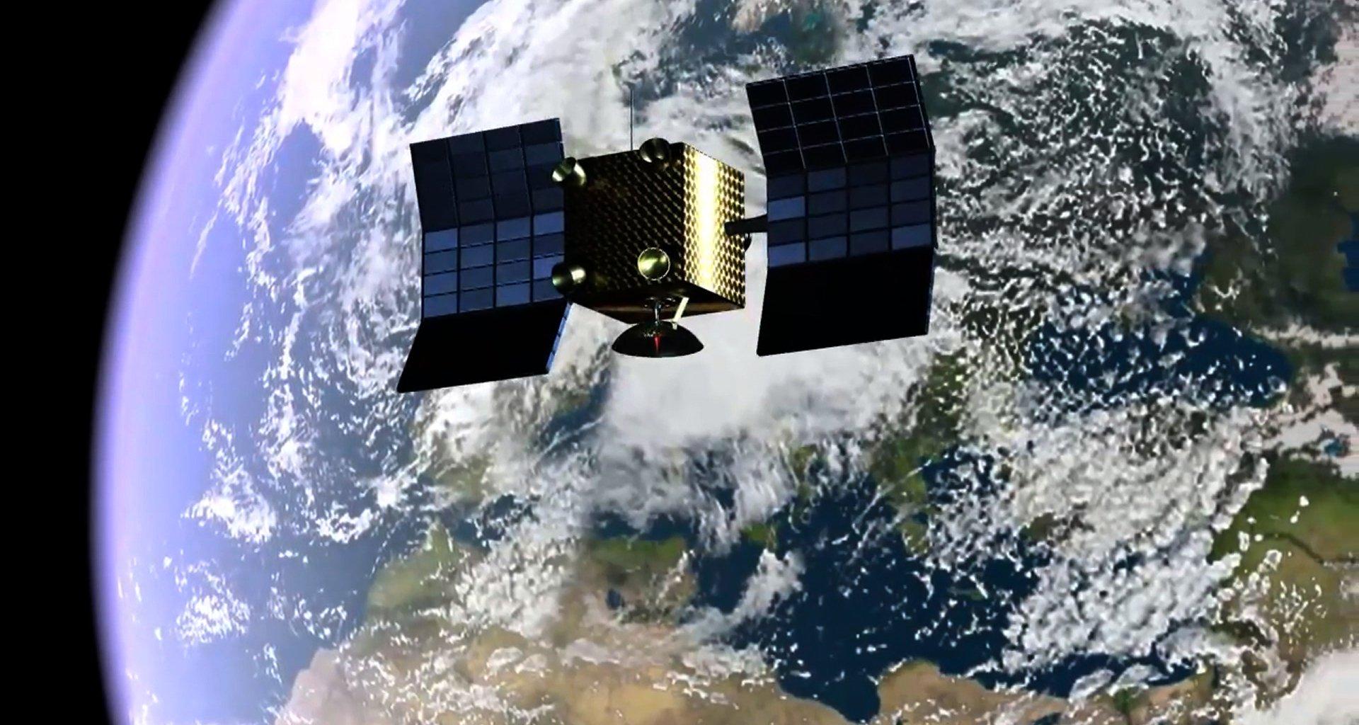 Картинка искусственные спутники земли