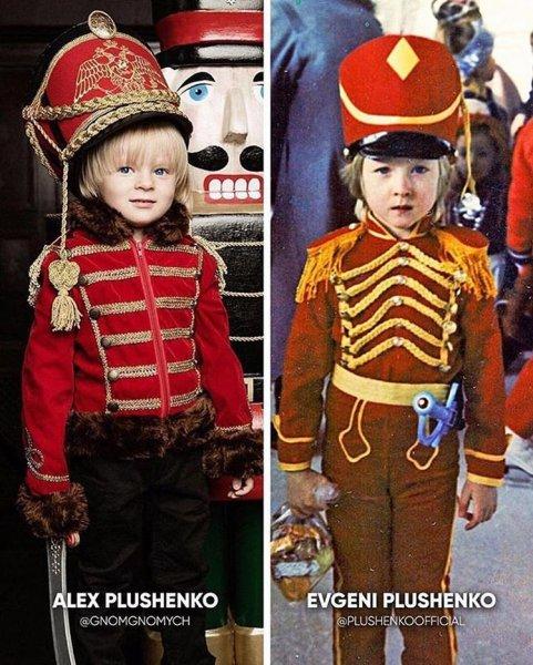 Пользователи спорят: Александр Плющенко похож на отца или нет