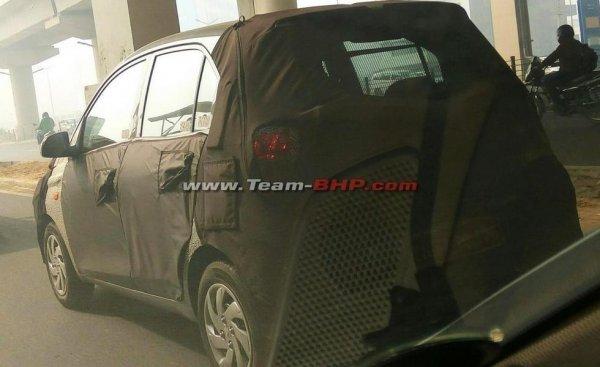 Новый хэтчбек Hyundai попался в объективы фотошпионов