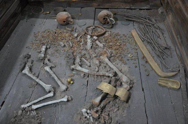В Туве швейцарский археолог отыскал прекрасно сохранившийся курган скифского царя