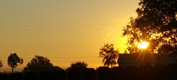 Очевидцы засняли необычное НЛО в Техасе