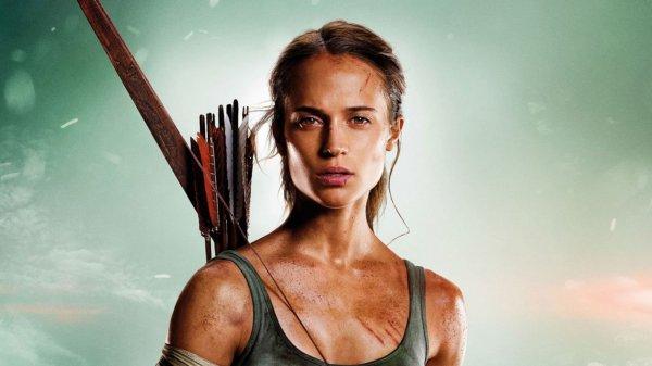 Алисия Викандер учится выживать в трейлере «Tomb Raider: Лара Крофт»