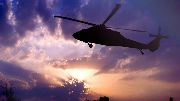 Два человека погибли из-за падения вертолета в США