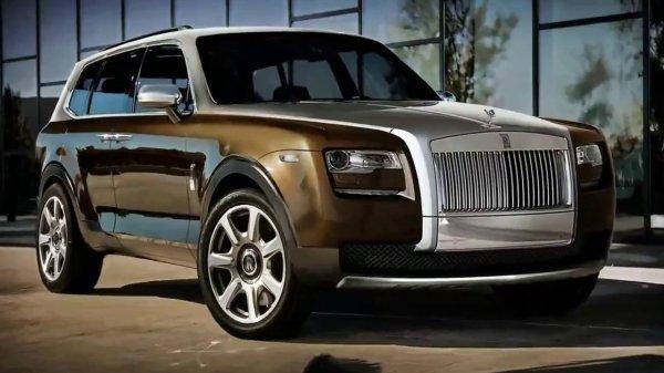 Новый кроссовер Rolls-Royce Cullinan доберётся до России в 2019 году