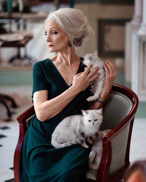 Российское агентство моделей от 45 лет Oldushka покорило мировые подиумы