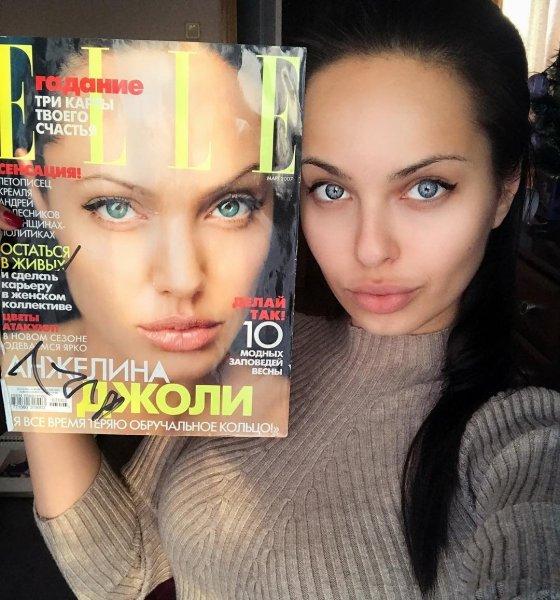 «Русская Анджелина Джоли» подтвердила факт отсутствия пластических операций