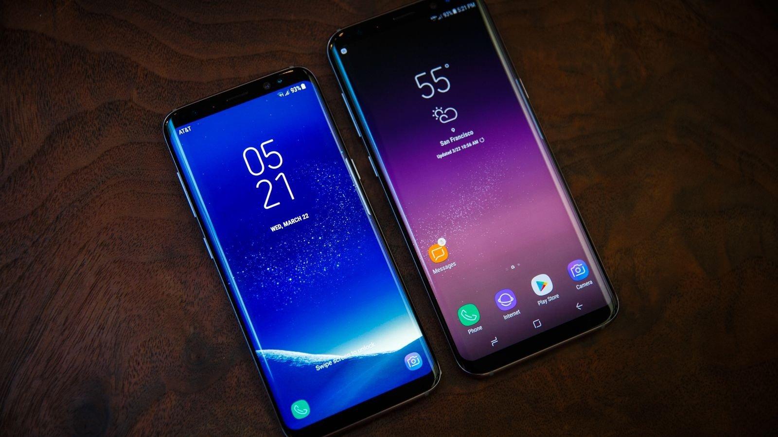 Самсунг представит последние модели влинейке Galaxy S