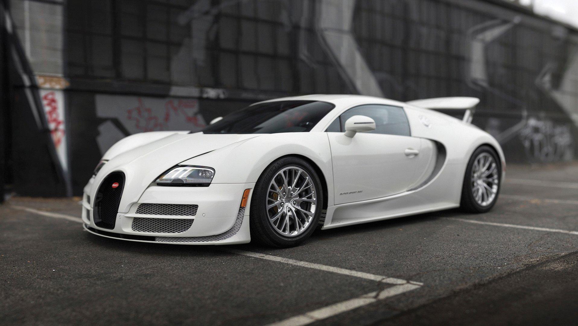 Бугатти Veyron получает 15 лет заводской гарантии