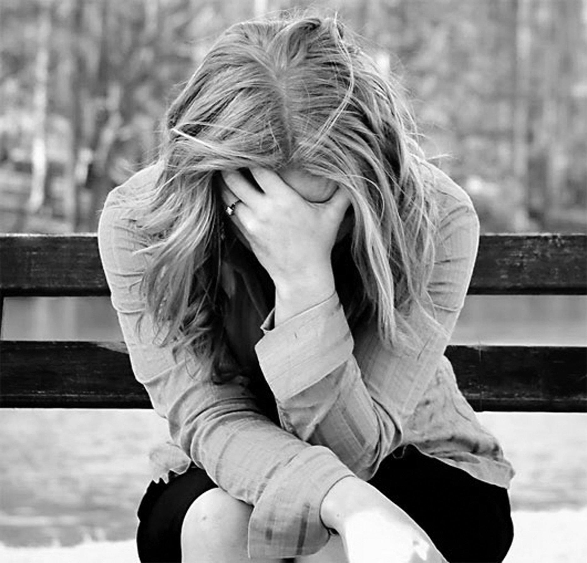 Картинки про депрессию для девушке