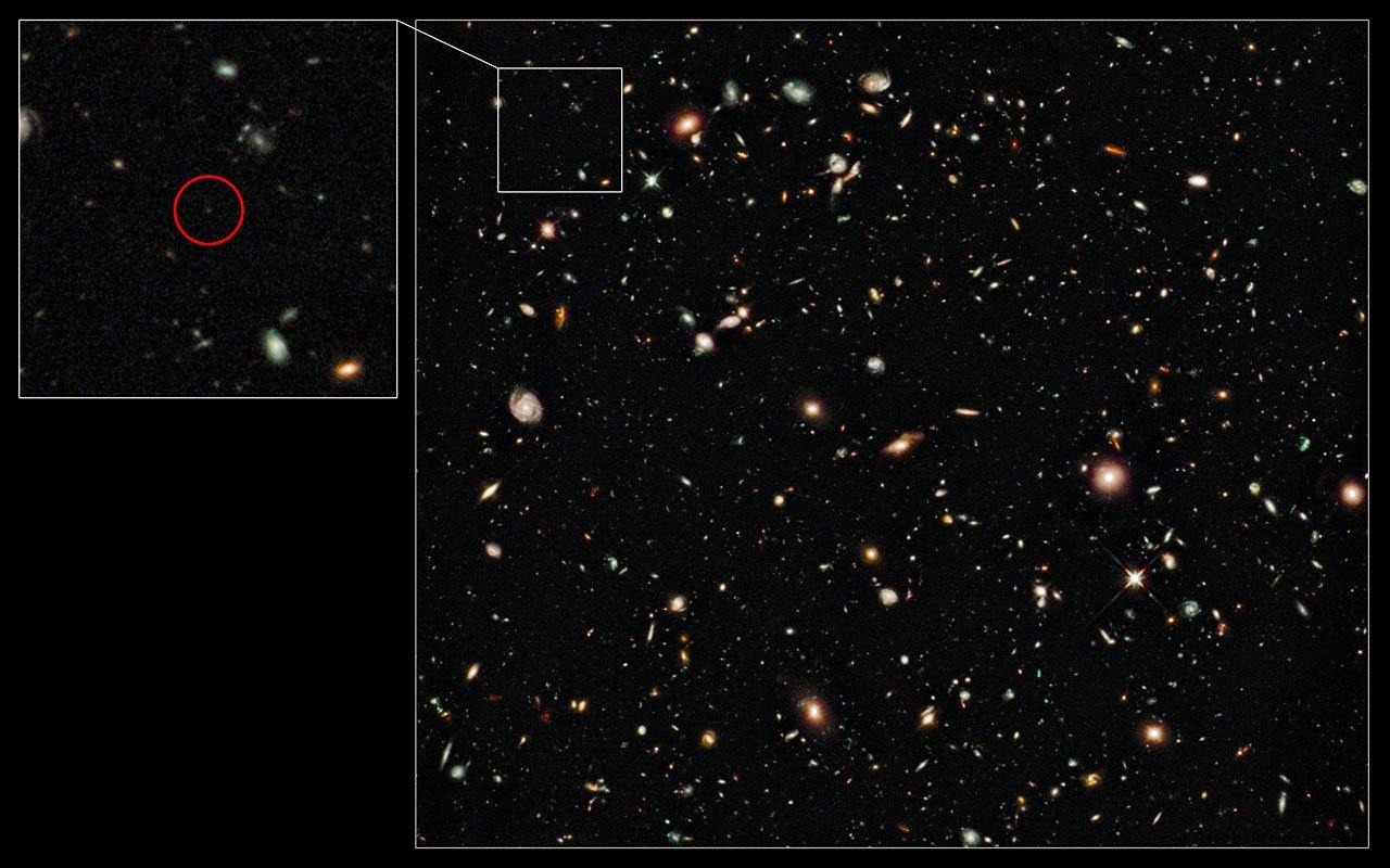 Агентство NASA продемонстрировало космический снимок, сделанный с рекордного расстояния (ФОТО)