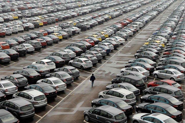 Российский автопарк насчитывает порядка 50 млн автомобилей