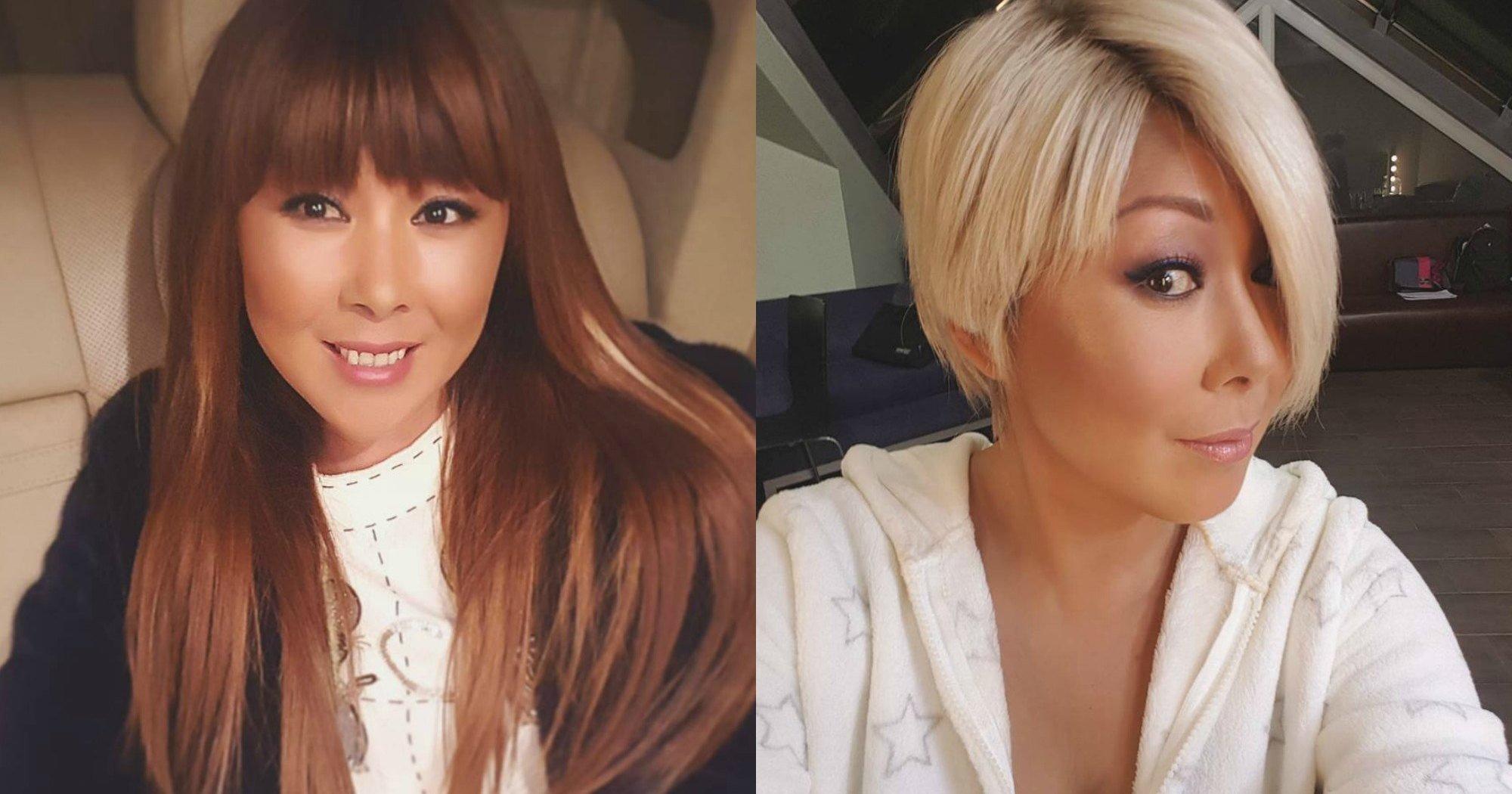 Анита Цой радикально сменила стиль истала блондинкой