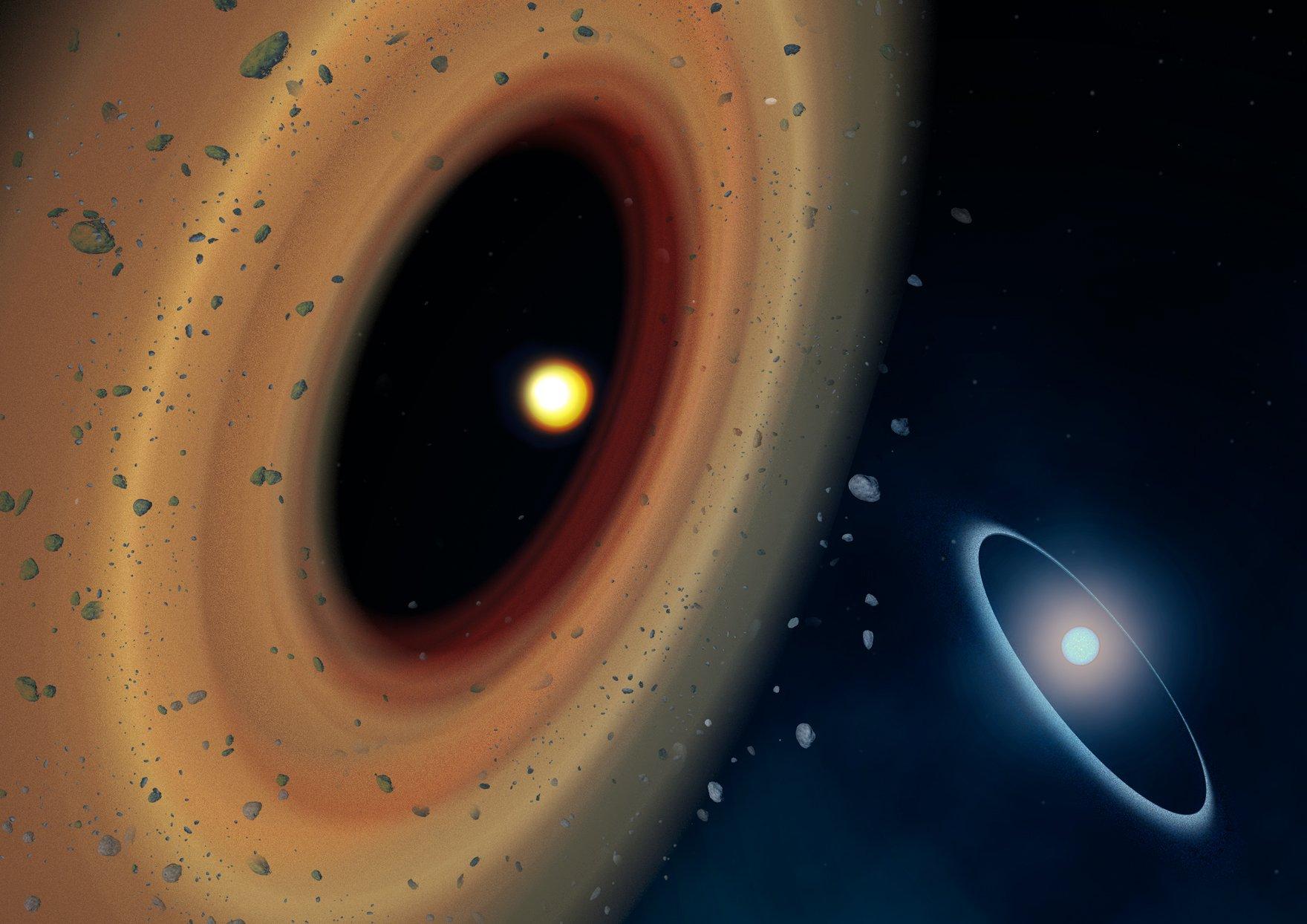 Ученые впервые получили снимок «бублика» вокруг черной дыры