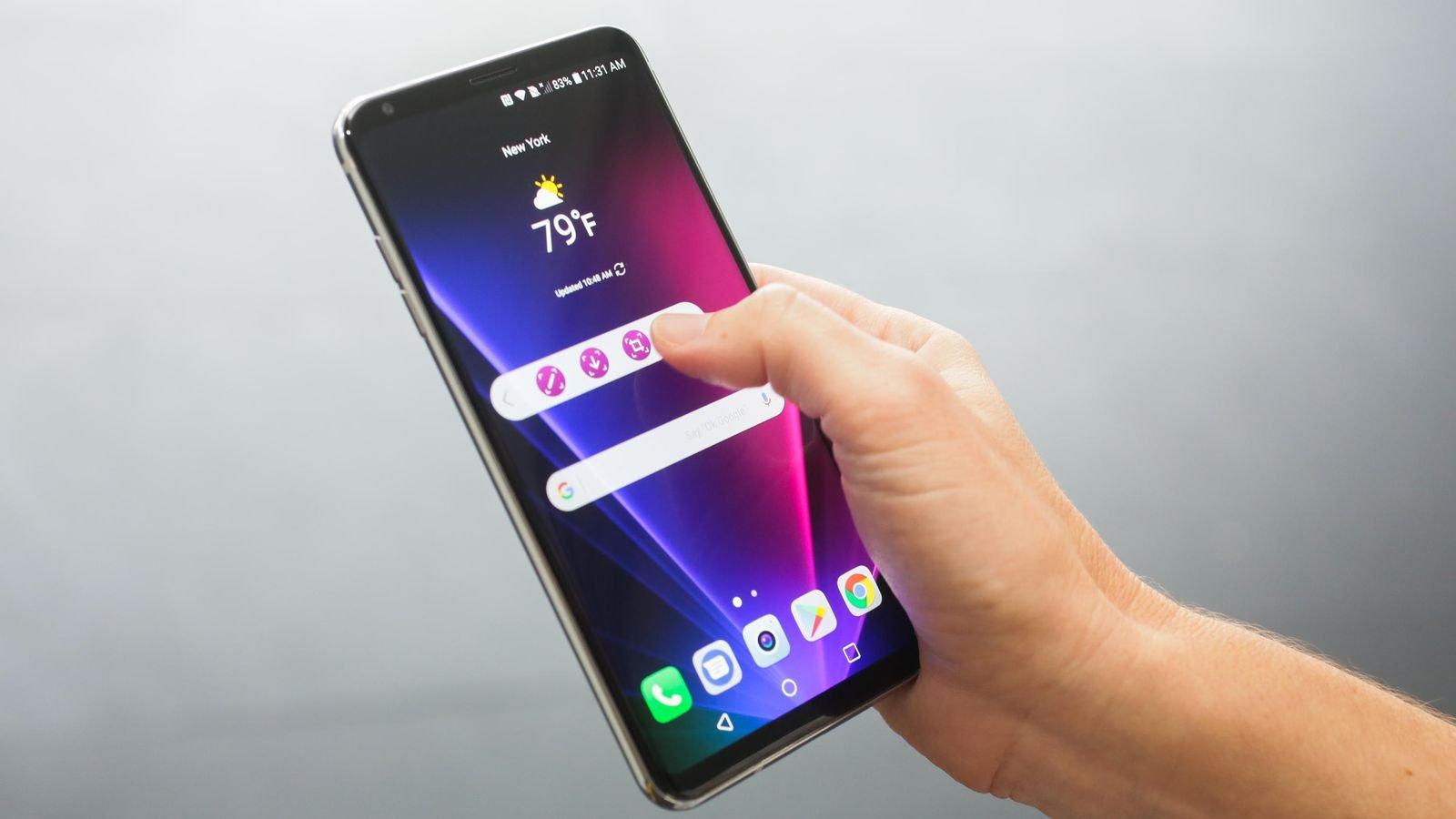 LGпредставит смартфон счипсетом Snapdragon 845 летом 2018 года