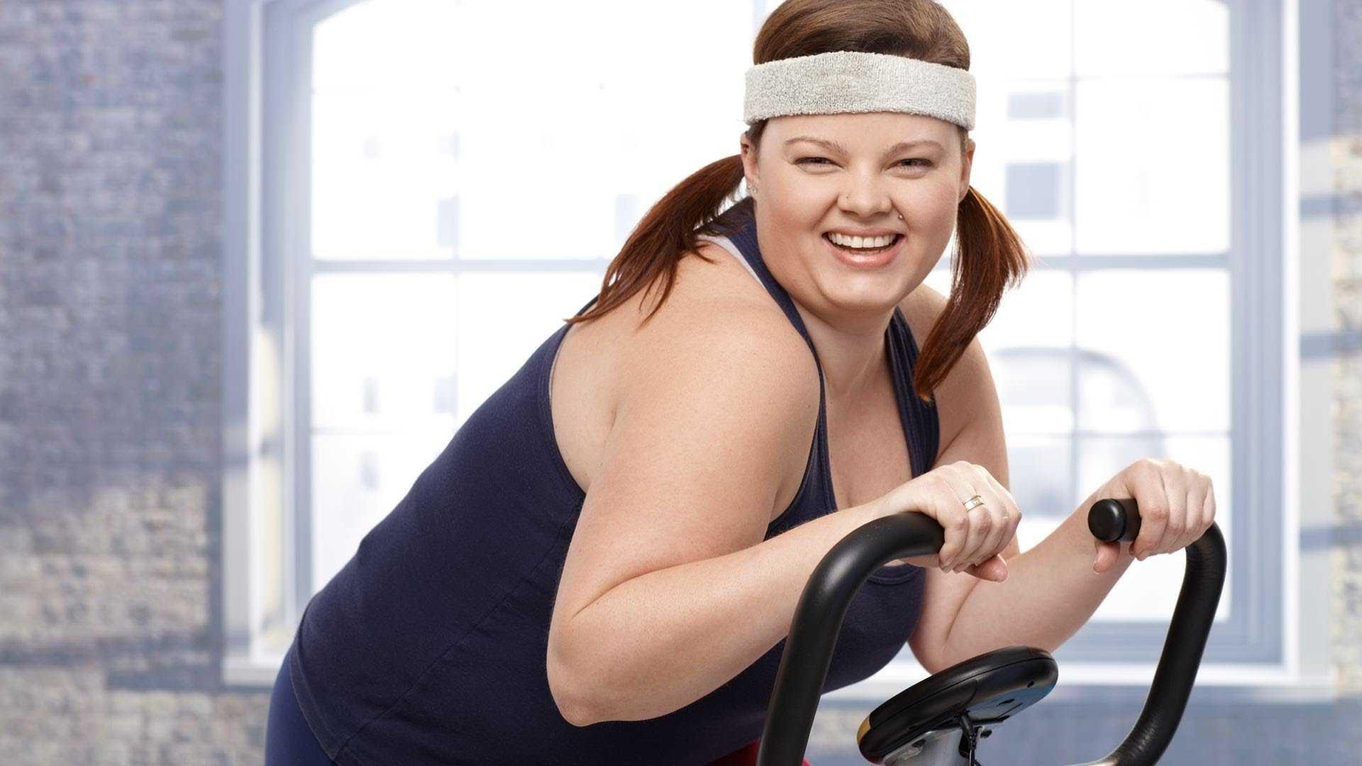 Тренажерный зал похудеть женщине