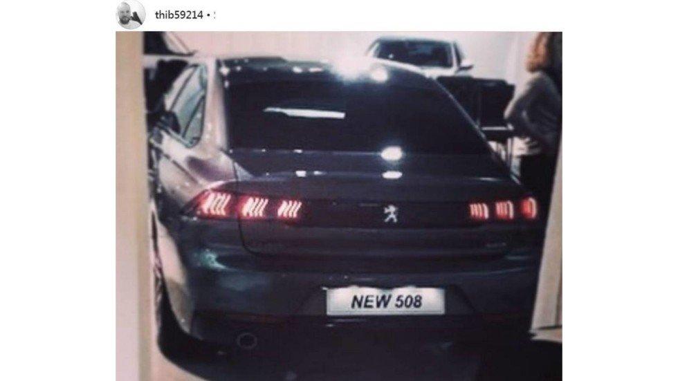 Peugeot (Пежо) 508: первая фотография без камуфляжной защиты