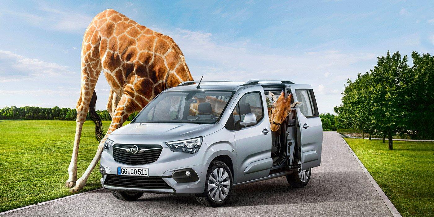 Представлен новый фургон Opel Combo Life