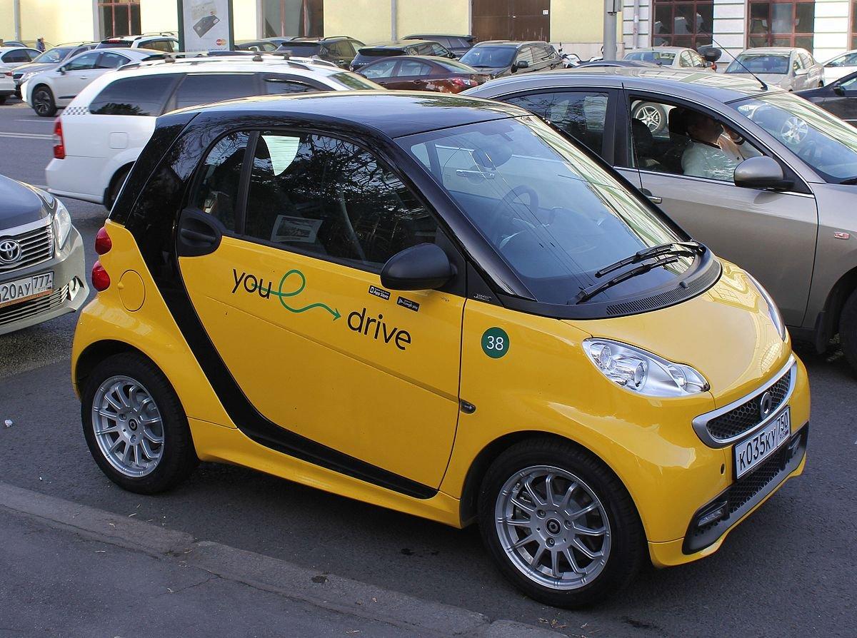 YouDrive запустит каршеринг для таксистов