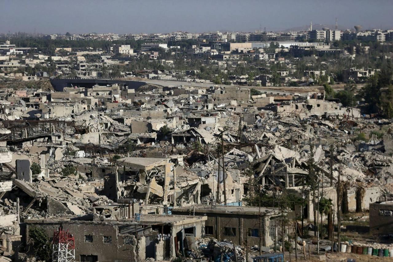 Песков назвал беспочвенными обвинения вадрес России поповоду обстрела вСирии