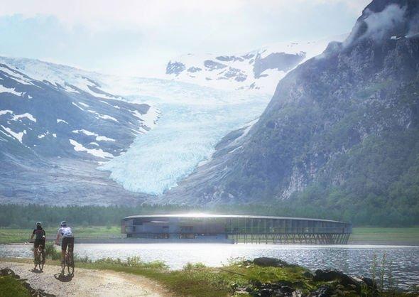 В Норвегии открылся первый в мире НЛО-отель, где можно увидеть Северное сияние