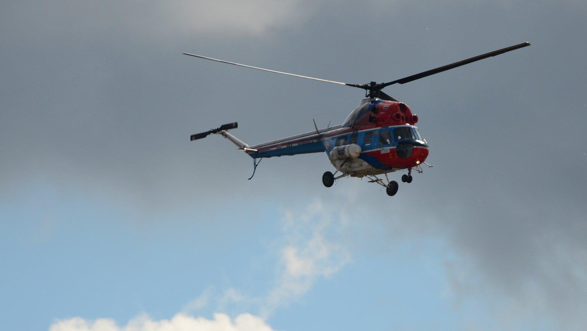 Запострадавшими при трагедии  наКАД прибыл вертолет