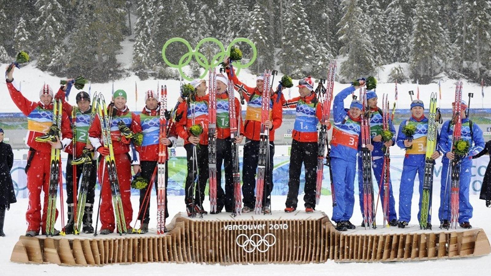 Норвегия установила новый рекорд поколичеству наград зимних Олимпиад