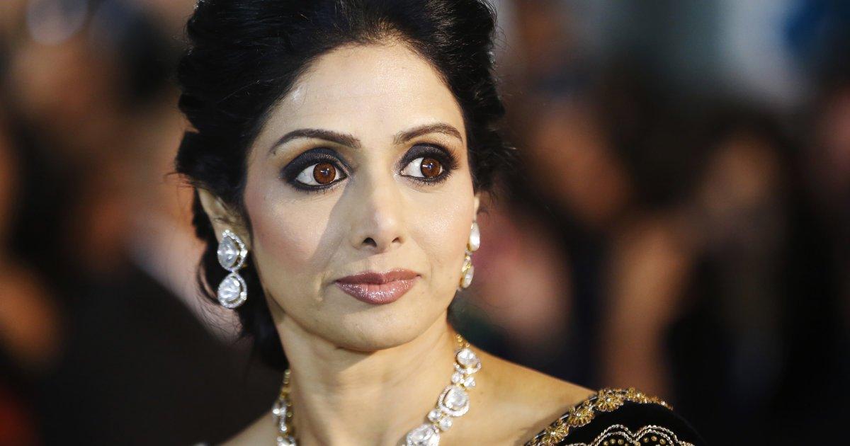 Индийская артистка Шридеви скончалась ввозрасте 54 лет