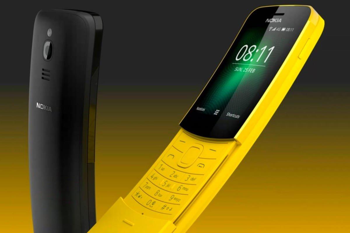 HMD вернула кжизни телефон-банан Nokia 8110 из«Матрицы»