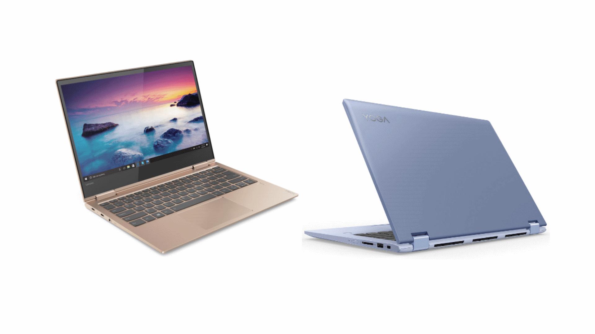 Lenovo анонсировала ноутбуки-трансформеры Yoga