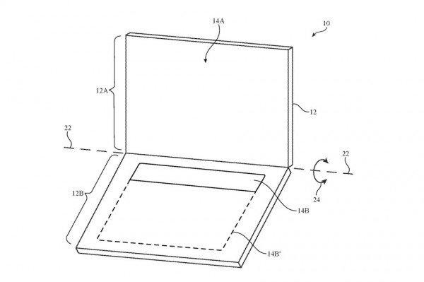 Apple запатентовала OLED-дисплей без клавиатуры