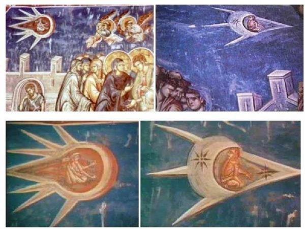 Древние фрески доказывают инопланетное происхождение Иисуса Христа