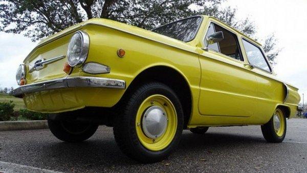 В США продают ЗАЗ-968 1978 года с украинскими номерами за 14 000 долларов