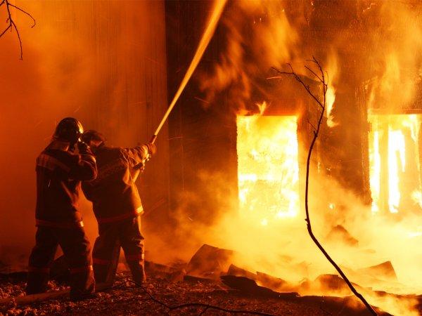 В Приморье вспыхнула строительная площадка