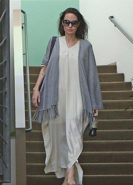 Отсутствие макияжа и сальные волосы: Анджелина Джоли потеряла былую красоту