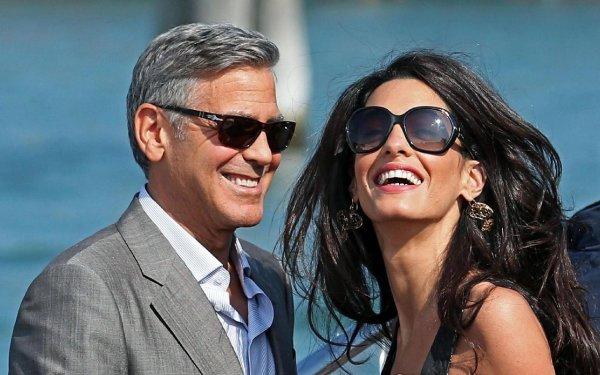Амаль и Джордж Клуни оставили своих новорожденных ради романтической поездки