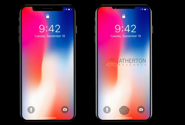 В новом iPhone появится встроенный сканер отпечатка пальца