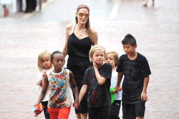 Анджелина Джоли и Брэд Питт борются за будущее 6 детей