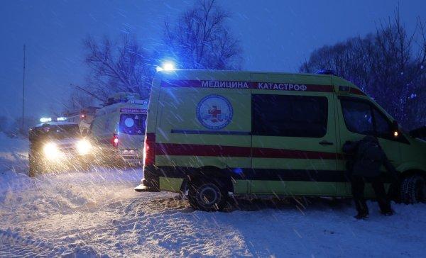 Фрагменты тел жертв крушения Ан-148 доставит в Москву вертолёт