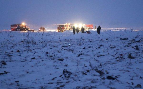 МЧС заканчивает поисковые операции на месте крушения Ан-148