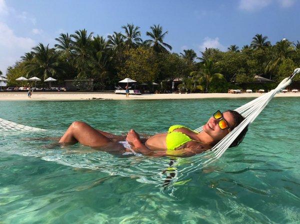 Юлия Топольницкая освоила серфинг