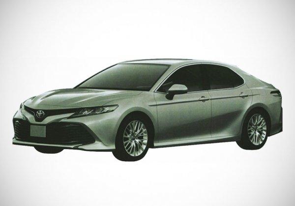 Новый Toyota Camry приедет в России весной