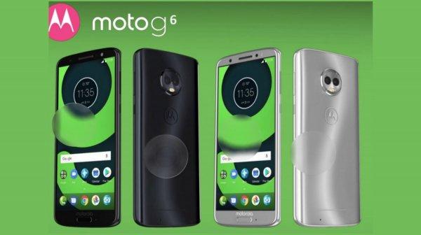 Рассекречены технические характеристики семейства Moto G6