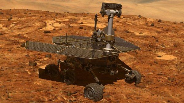 Марсоход Opportunity в субботу отпразднует 5000 день своей работы