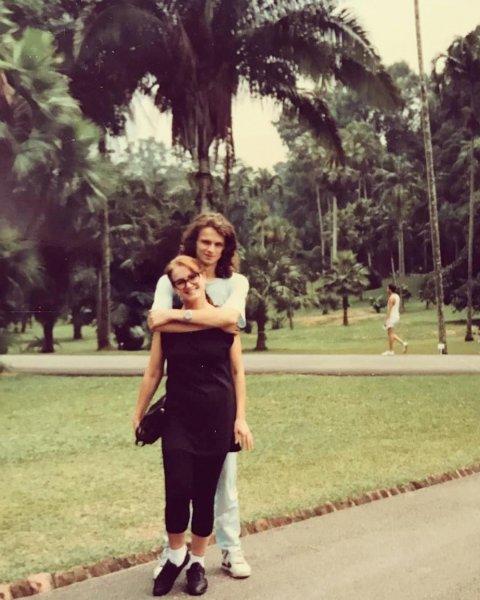 Сын Софии Ротару опубликовал ее фото 30-летней давности