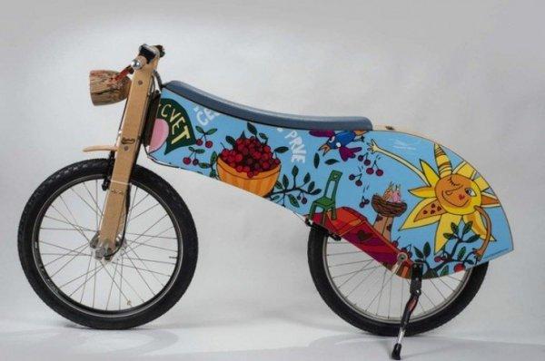 В Словении создали деревянный электрический велосипед