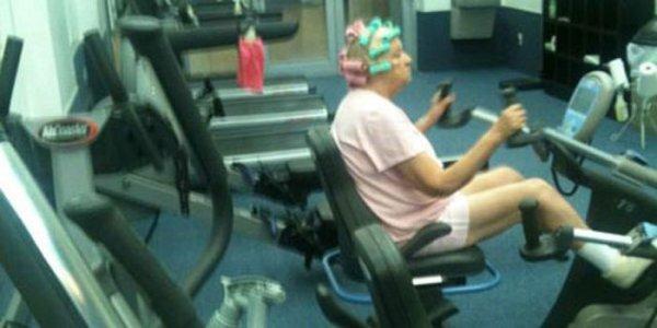 93-летняя американка взорвала Сеть видеороликом из фитнес-зала
