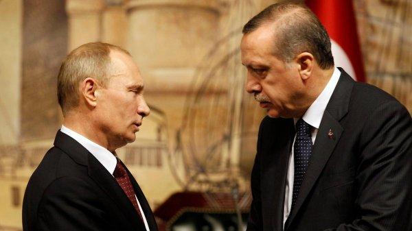 Эрдоган предупредил Путина о возможном будущем Сирии