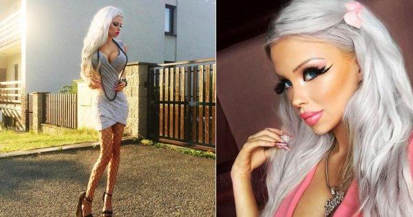 Чешская девушка изуродовала себя в погоне за внешностью Барби