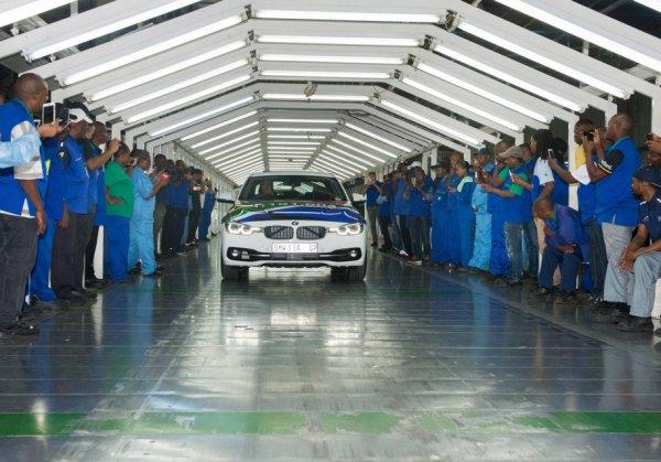 BMW 3-Series покинул конвейер завода в Южной Африке