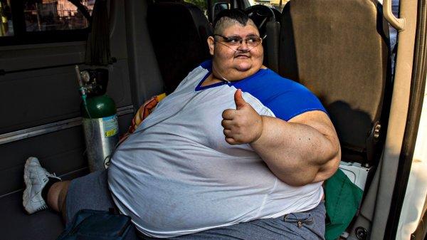 Самый тяжелый человек в мире похудел